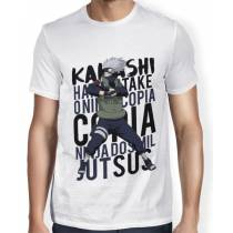 Camisa SB - TN Ninja Kakashi - Naruto