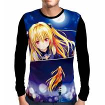 Camisa Manga Longa Yami - Golden Darkness - To Love Ru