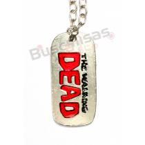 TWD-02 - DogTag Prata - The Walking Dead
