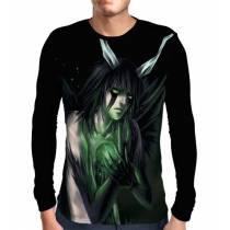 Camisa Manga Longa Ulquiorra - Bleach