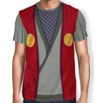 Camisa Full Print Uniforme - Jiraiya - Naruto