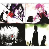 Mouse Pad - Variado 02 - Anime