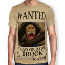 Camisa Full Print Wanted BROOK - One Piece