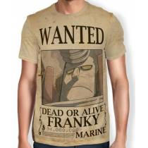 Camisa Full Print Wanted Franky V2 - One Piece