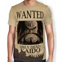 Camisa Full Print Wanted Kaido - One Piece