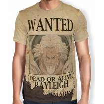 Camisa Full Print Wanted RAYLEIGH - One Piece