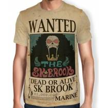 Camisa Full Print Wanted SK BROOK - One Piece