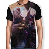 Camisa FULL Rakan e Xayah - League of Legends