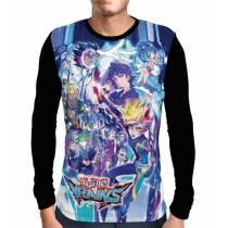 Camisa Manga Longa YU-GI-OH Vrains