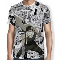 Camisa FULL Print Manga Zabuza - Naruto