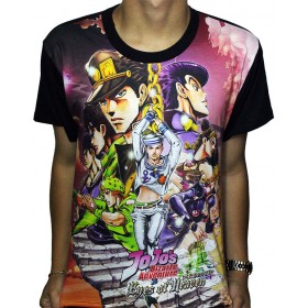 "Camisa FULL All Stars - Jojo""s Bizarre Adventure"