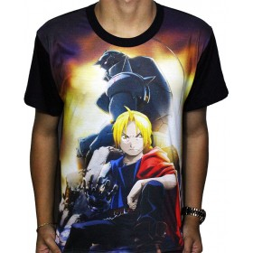 Camisa FULL Brotherhood - Fullmetal Alchemist