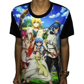 Camisa FULL Magi - Labyrinth of Magic