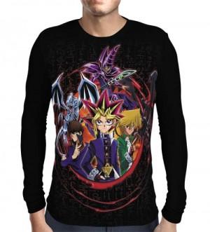 Camisa Manga Longa Yu-gi-oh - Yugi - Kaiba - Joey