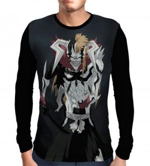 Camisa Manga Longa Ichigo Vasto Lord - Bleach