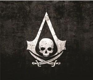 Mouse Pad - Insignia Black Flag - Assassins Creed IV