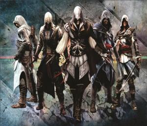 Mouse Pad - AC Sagas - Assassins Creed