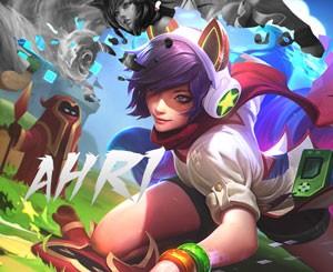 Mouse Pad - Arcade Ahri - League of Legends