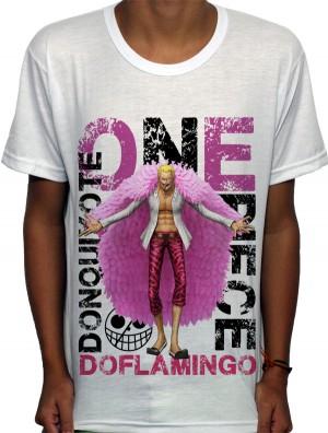 Camisa SB BB-OP Donquixote Doflamingo - One Piece
