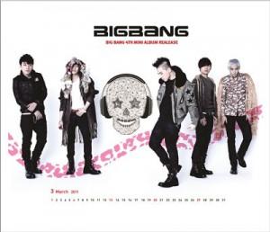 Mouse Pad - BigBang 4th Mini Album