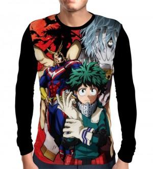 Camisa Manga Longa SEASON - BOKU NO HERO ACADEMIA