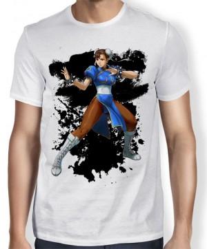 Camisa Tn Chun-Li - Street Fighter