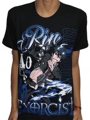 Camisa Ao no Exorcist - Okumura Rin