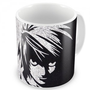 CNDN-04- Caneca Lawliet - Death Note
