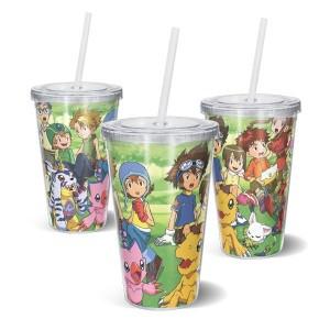 Copo Acrilico Digimon 1 - Digimon Adventure