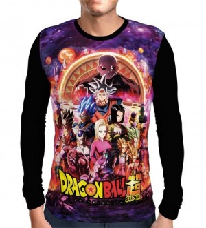 Camisa Manga Longa Torneio do Poder - Dragon Ball Super