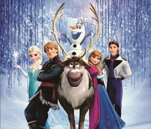 Mouse Pad -Poster - Frozen