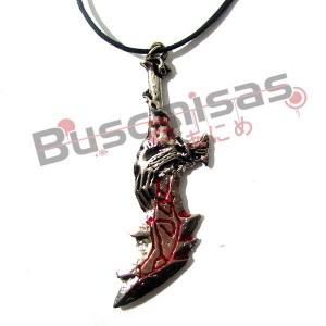 GW-01 - Colar Espada do Kratos - Blade of Chaos
