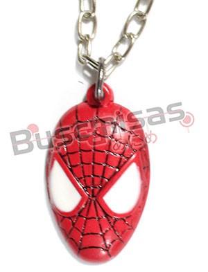 HA-02 - Colar Mascara Homem Aranha