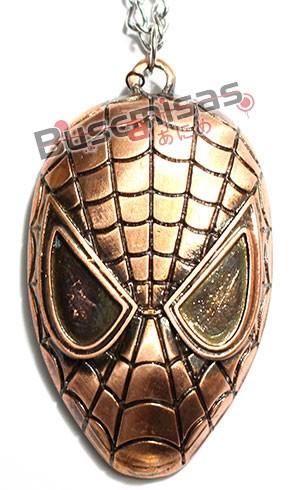 HA-05 - Colar Mascara Homem Aranha Grande
