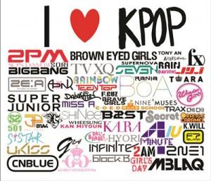 Mouse Pad - I Love K-Pop