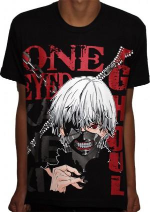 Camisa One Eyed Kaneki - Tokyo Ghoul