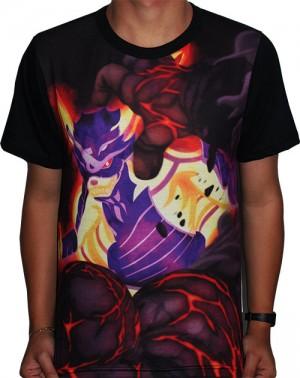 Camisa FULL Susano´o e Kurama - Boruto Naruto