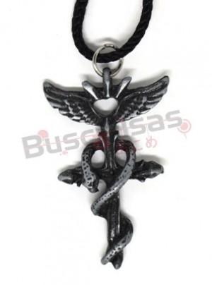 FMA-25 - Colar Simbolo Alquimista Luxo Especial -  Fullmetal Alchemist