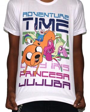 Camisa SB FINN/JAKE/JUJUBA/IRIS - Adventure Time