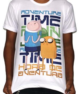 Camisa SB Finn e Jake - Adventure Time