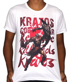Camisa SB Kratos - God Of War