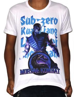 Camisa SB Subzero - Mortal Kombat