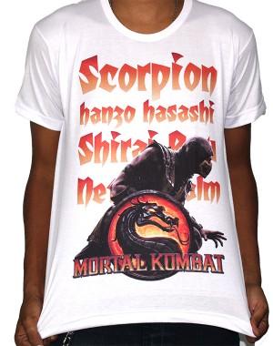 Camisa SB Scorpion - Mortal Kombat
