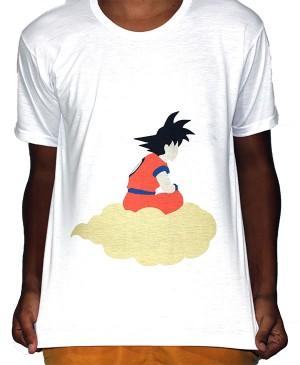 Camisa VA  - Dragon Ball Z Goku Nuvem Voadora