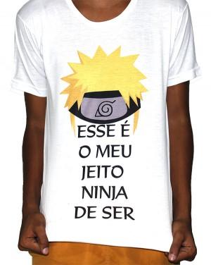 Camisa VA  - Naruto Jeito Ninja