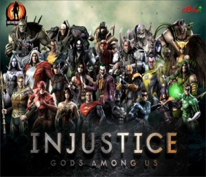 Mouse Pad - Injustice Personagens