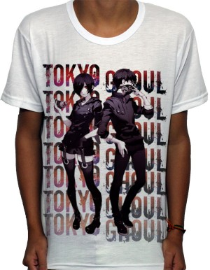 Camisa SB Touka e Kaneki - Tokyo Ghoul