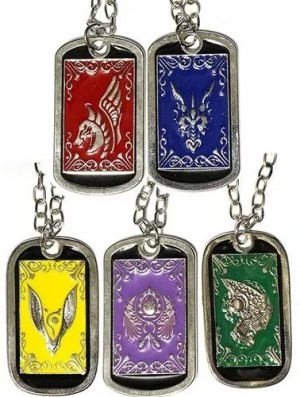 KIT-CDZ01  - Kit Colares Dog Tag Cavaleiros do Zodiaco