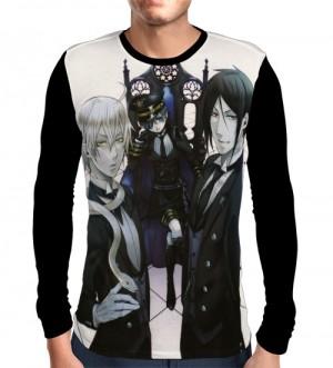Camisa Manga Longa MASTER - KUROSHITSUJI - BLACK BUTLER