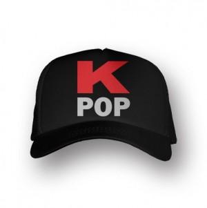 Boné Trucker K-POP - Preto
